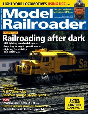 Model Railroader Magazine | 9/2019 Cover