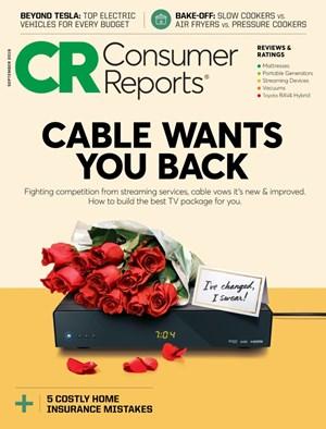 Consumer Reports Magazine | 9/2019 Cover