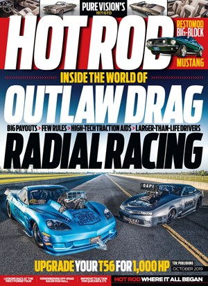Hot Rod Magazine | 10/2019 Cover