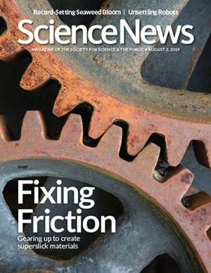 Science News Magazine | 8/3/2019 Cover