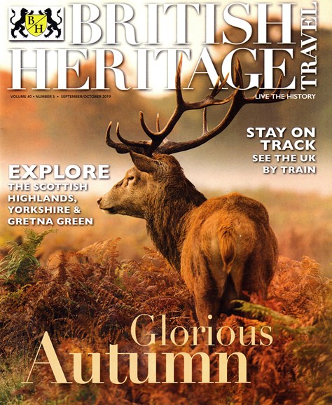 British Heritage Travel Cover - 9/1/2019