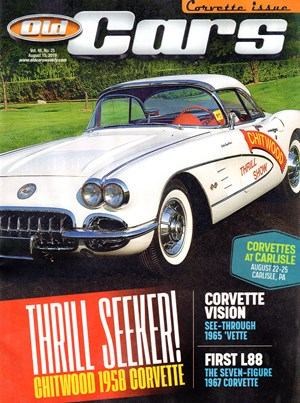 Old Cars Weekly Magazine | 8/15/2019 Cover