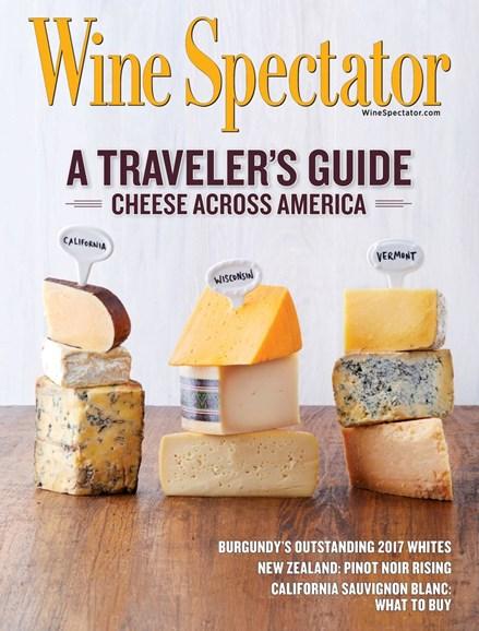 Wine Spectator Cover - 9/30/2019