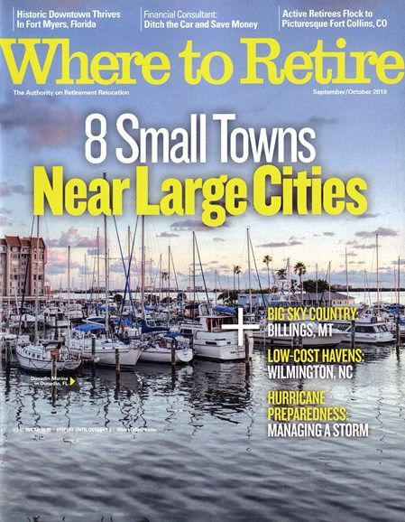 Where To Retire Cover - 9/1/2019