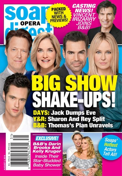Soap Opera Digest Cover - 8/5/2019