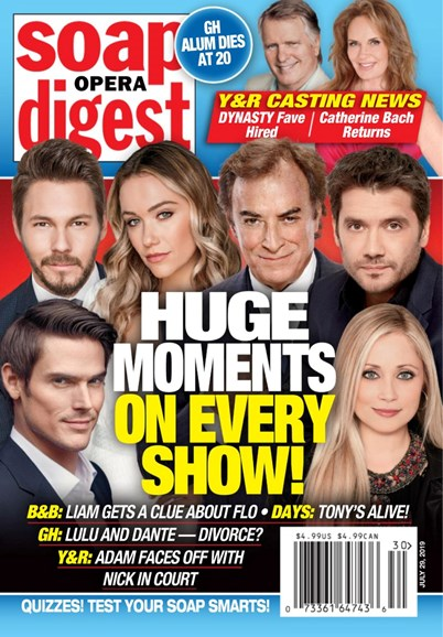 Soap Opera Digest Cover - 7/29/2019