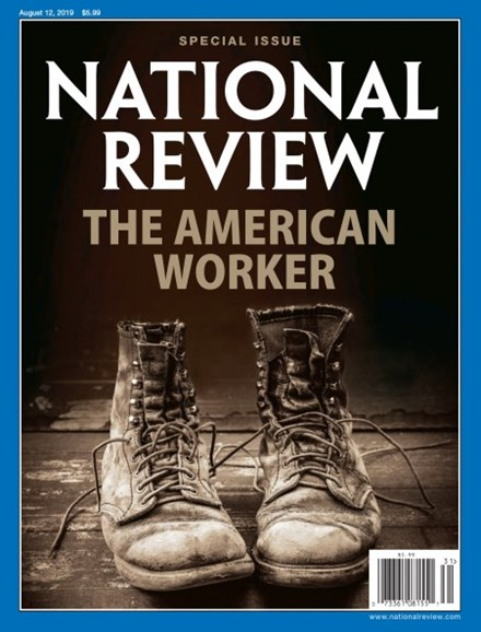 National Review Cover - 8/12/2019