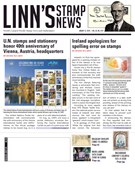 Linn's Stamp News Magazine 8/12/2019