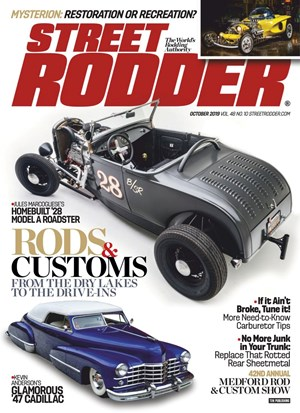Street Rodder Magazine | 10/2019 Cover