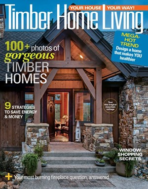 Timber Home Living Magazine | 9/2019 Cover