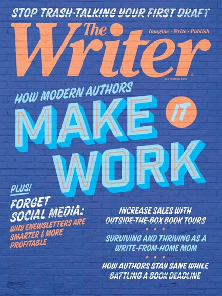 The Writer Cover - 9/1/2019