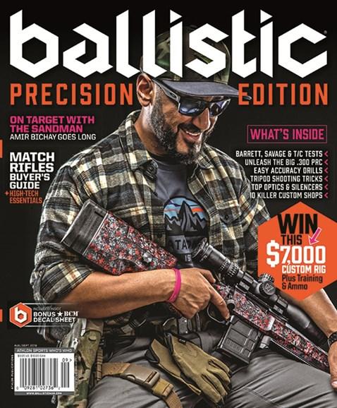 Ballistic Cover - 8/1/2019