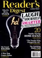 Reader's Digest Large Print 9/1/2019