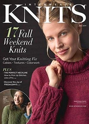 Interweave Knits Magazine   9/2019 Cover