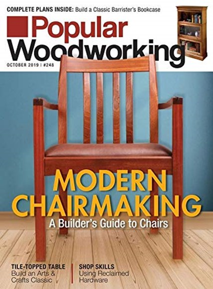 Popular Woodworking Cover - 10/1/2019