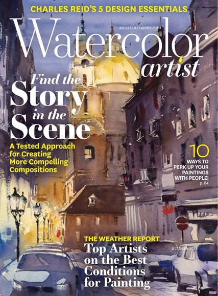 Watercolor Artist Cover - 10/1/2019
