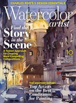 Watercolor Artist | 10/2019 Cover