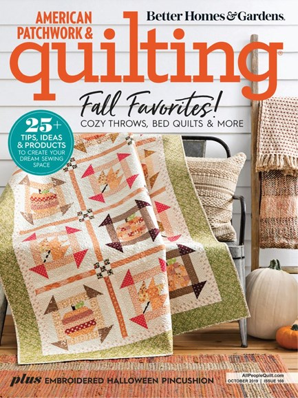 American Patchwork & Quilting Cover - 10/1/2019
