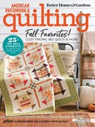 American Patchwork & Quilting Magazine 10/1/2019