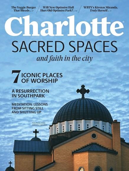 Charlotte Magazine Cover - 8/1/2019