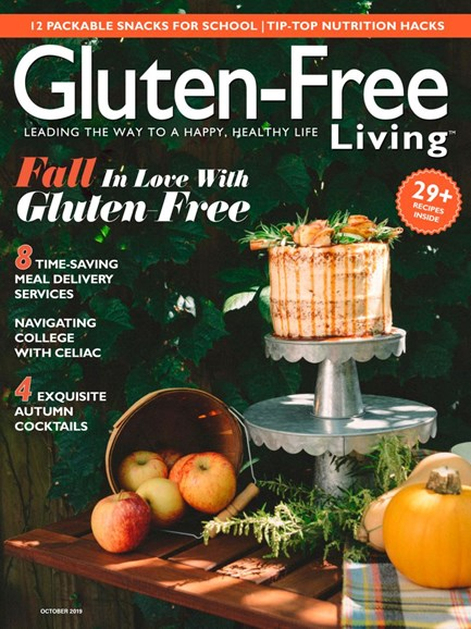 Gluten-Free Living Cover - 9/1/2019