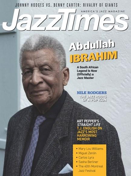JazzTimes Cover - 9/1/2019