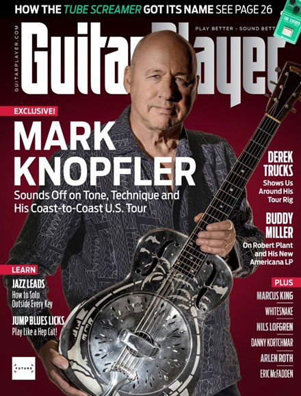 Guitar Player Cover - 9/1/2019