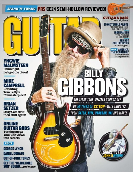Guitar World Cover - 8/1/2019