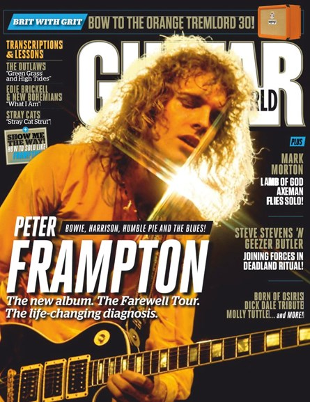 Guitar World Cover - 7/1/2019