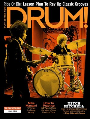 Drum Magazine | 9/2019 Cover