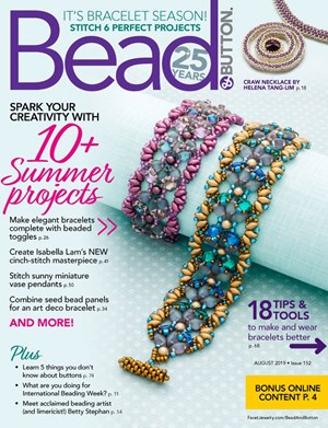 Bead & Button Magazine | 8/2019 Cover