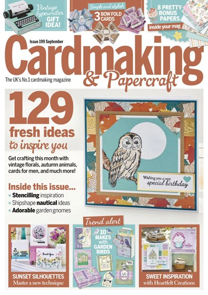 CardMaking & PaperCrafts Cover - 9/1/2019