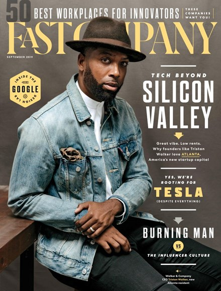Fast Company Cover - 9/1/2019