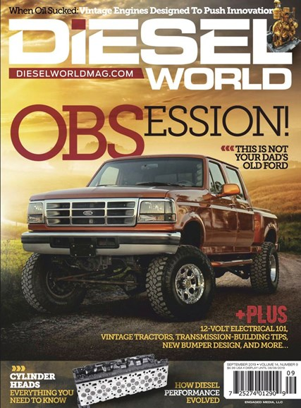 Diesel World Cover - 9/1/2019