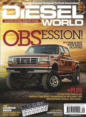 Diesel World Magazine | 9/2019 Cover