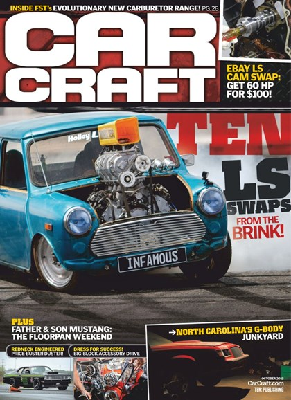 Car Craft Cover - 10/1/2019