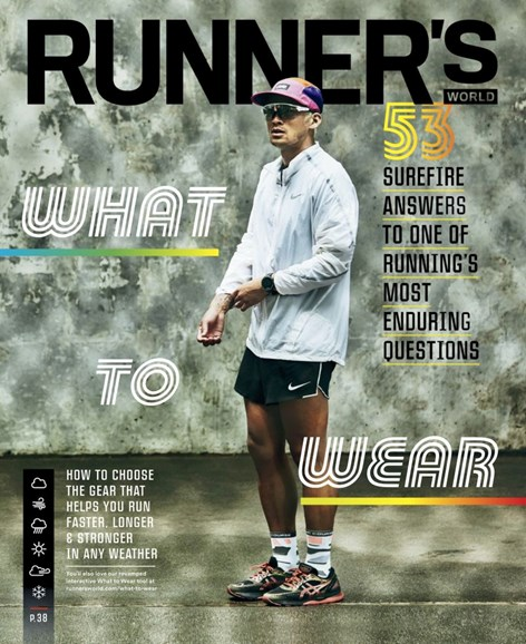 Runner's World Cover - 7/1/2019