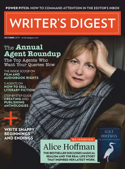 Writer's Digest Cover - 10/1/2019