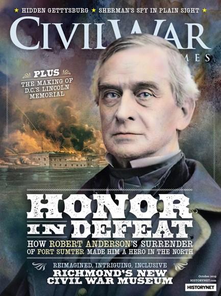 Civil War Times Cover - 10/1/2019