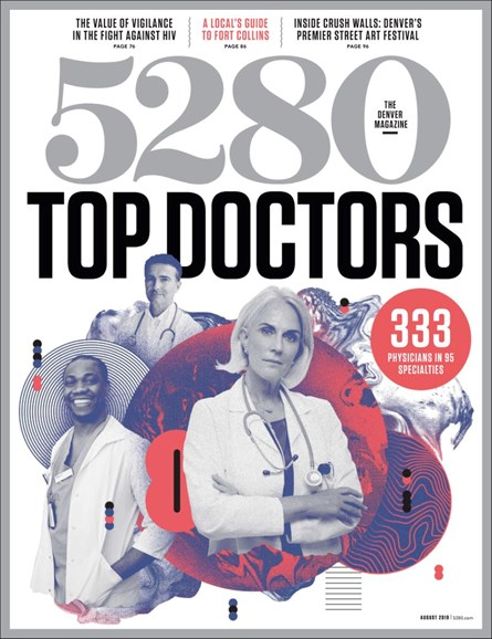 5280 Magazine Cover - 8/1/2019
