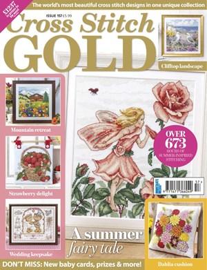 Cross Stitch Gold Magazine | 8/2019 Cover