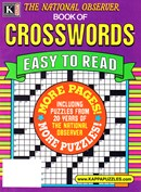 The National Observer Book of Crosswords | 1/2025 Cover