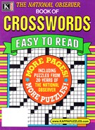 The National Observer Book of Crosswords Magazine 1/1/2025