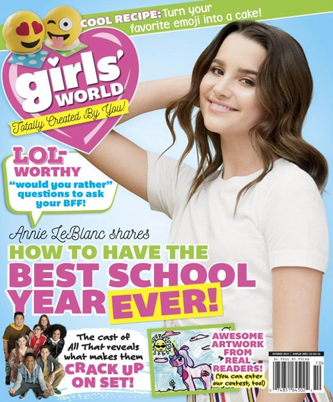 Girls' World Cover - 10/1/2019