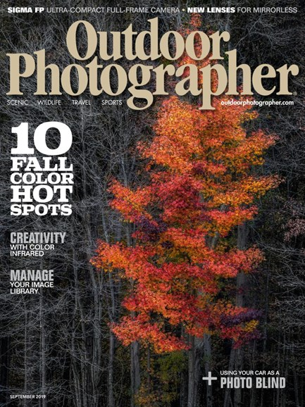 Outdoor Photographer Cover - 9/1/2019