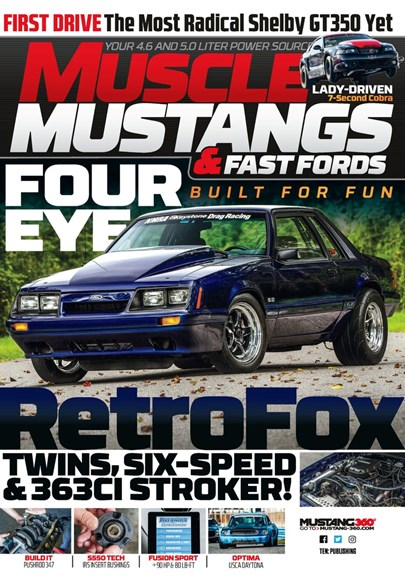 Muscle Mustangs & Fast Fords Cover - 10/1/2019