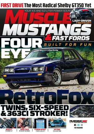 Muscle Mustangs & Fast Fords Magazine | 10/2019 Cover