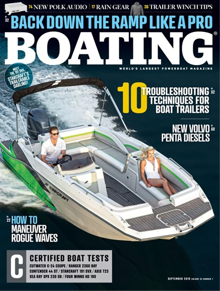 Boating Cover - 9/1/2019