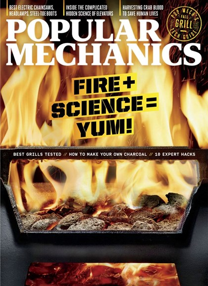 Popular Mechanics Cover - 9/1/2019