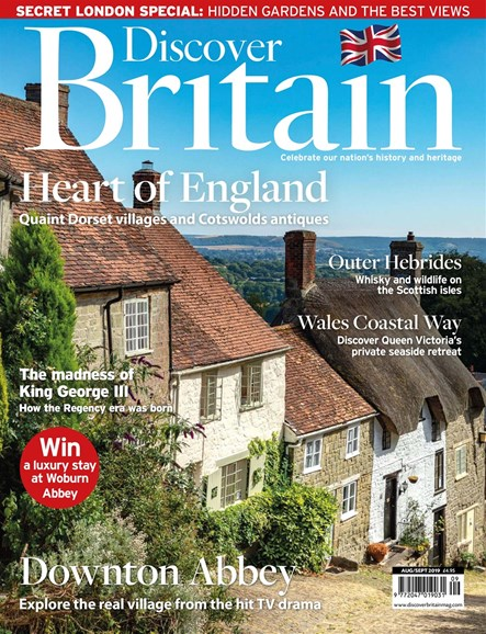 Discover Britain Cover - 8/1/2019